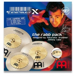 Set Meinl Generation X Johnny Rabb 121618