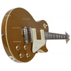 Guitarra Aria Les Paul Gold top se va