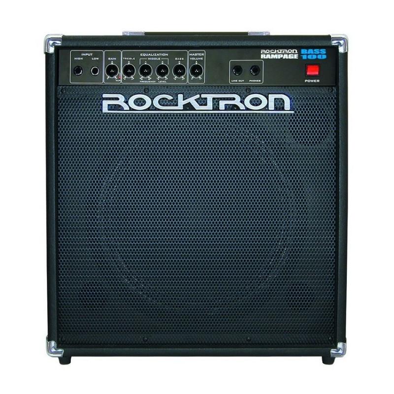 Amplificador Rocktron RAMPAGE BASS 100 W
