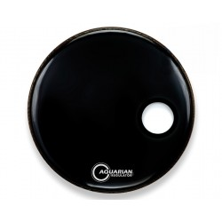 Parche Aquarian Regulador Black Single Ply