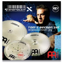 Set Meinl Generation X Tom´s Becken 14 17 18