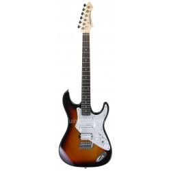 Guitarra Aria 714 Serie Tremolo Sunburst