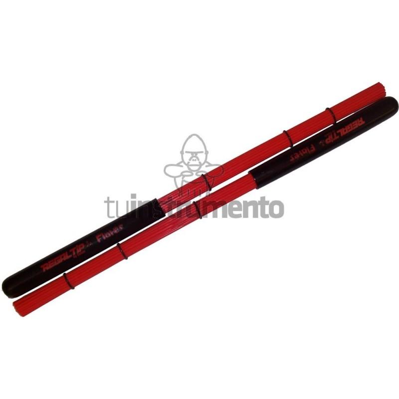 Escobilla Regal Tip Flares Rojo Mango Plastico