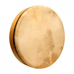 "Bodhran, 18""x3.5"", Fix, Mulberry, Cross"