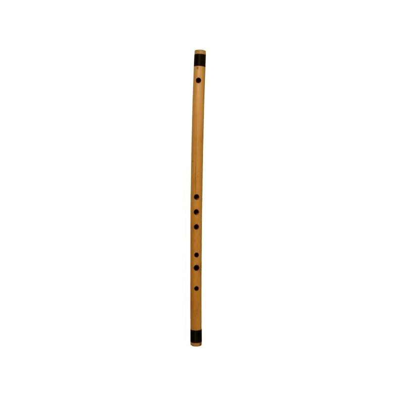 Bansuri flauta de bambu de La India en F