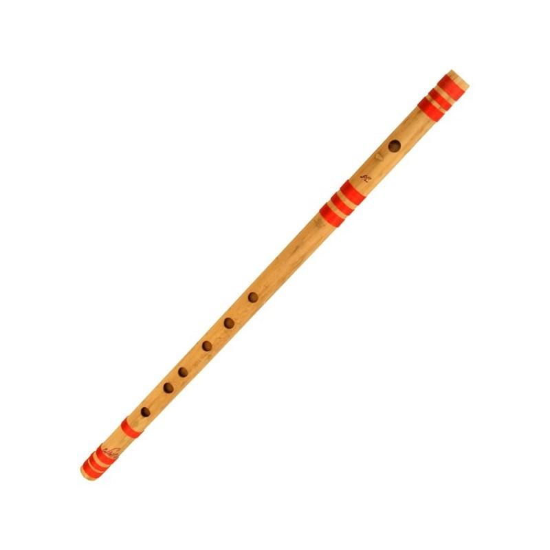 Bansuri flauta de bambu de La India La Sost. Si Bemol