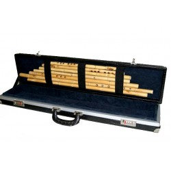 Ney Pro Set de 7 Flautas con estuche