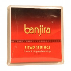 Cuerdas de Sitar Banjira String Set, Std, 7, Light