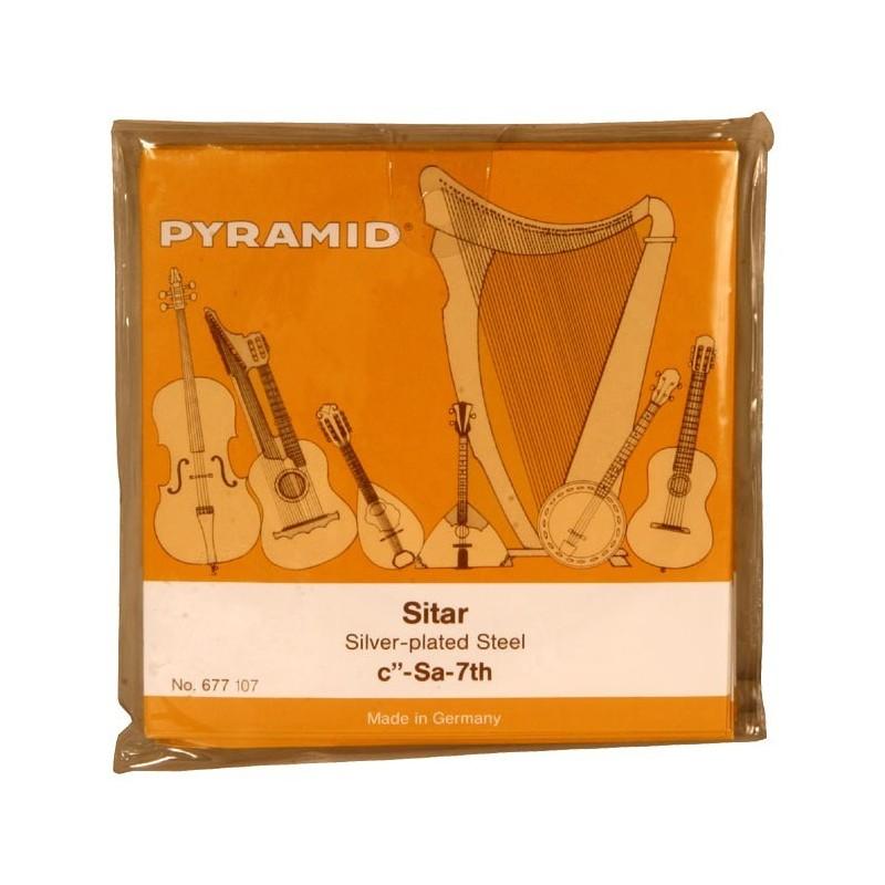 Cuerdas de Sitar Profesional Set Pyramid