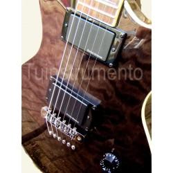 Guitarra Aria Les Paul Duncan design activo Cerca