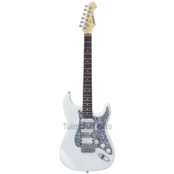 Guitarra Aria STG 004 DX blanca