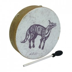 Buffalo Drum Remo Tambor Chamanico Coyote