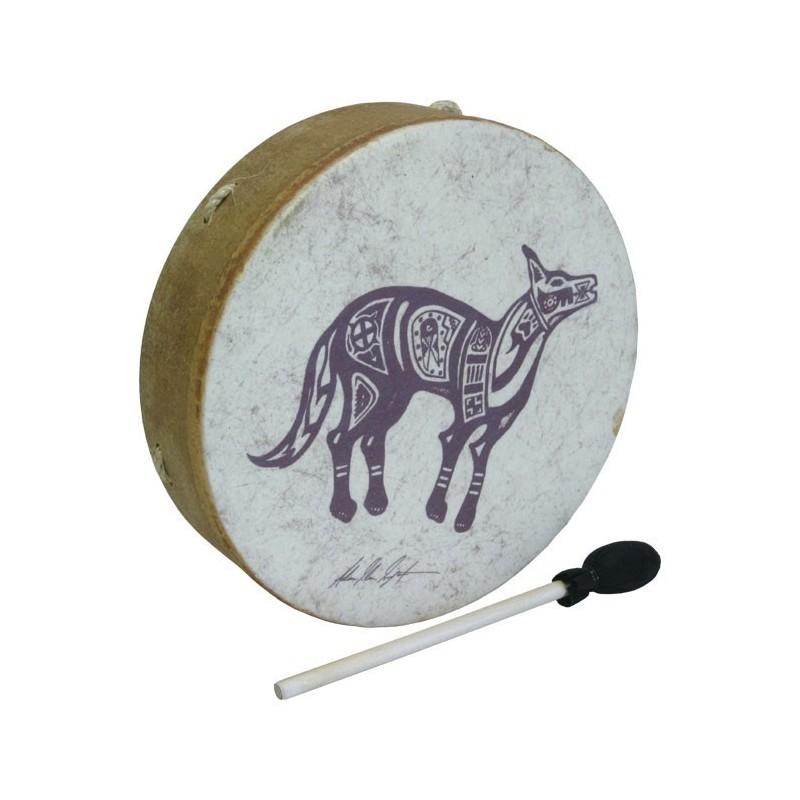 Buffalo Drum Remo Tambor Chamanico Coyote
