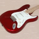Guitarra ESP ST213 Maple Candy Apple Red 3