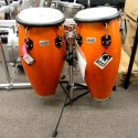 "Set de congas TOCA PLAYER´S 11"" y 11"" 3/4 WOODEN AMBAR"
