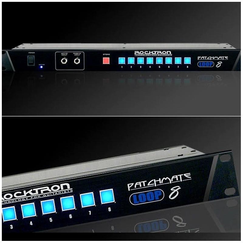 Controlador Rocktron PatchMate Loop 8