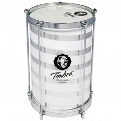 Repique 8x30 Timbra Aluminio Custom .Herrajes Crom.5Tens.