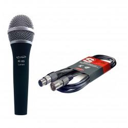 Micrófono Prodipe M85 LANEN Dinamico Uni.Bocha anti-golpe