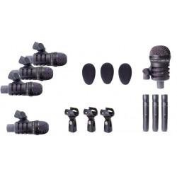 Set 8 Microfonos Prodipe ST8 Set 8 Mic. P/Bateria C/Estuche