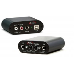 Placa de audio Prodipe STUDIO 22 USB Interface