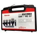 Set 7 Microfonos p Bateria Profesional3