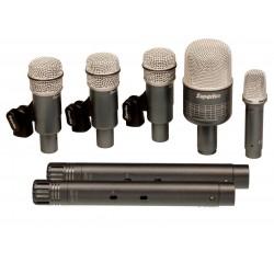 Set 7 Microfonos Superlux Bateria Profesional