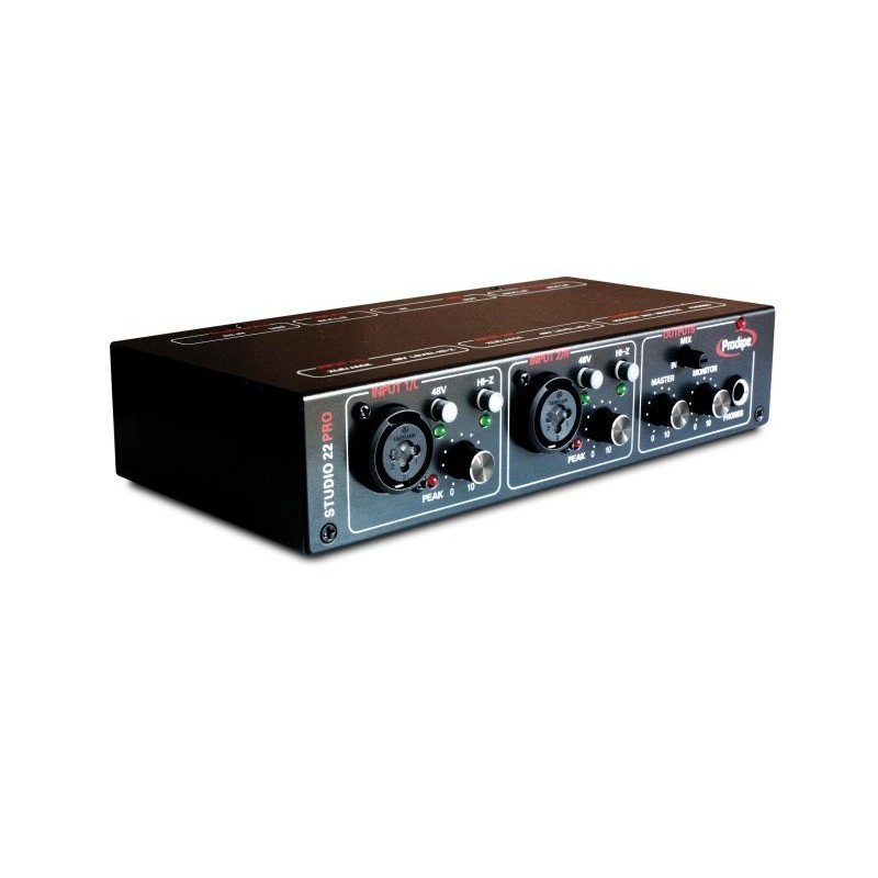 Placa de audio Prodipe STUDIO Pro 22 USB