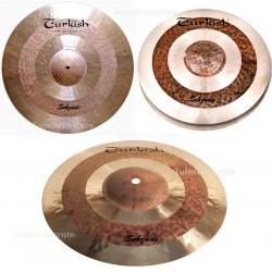 "Set turkish Sehzade Hi Hat 14""+16""Crash+20""Ride+Funda"