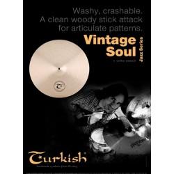 """Hi hat 14"""" Turkish Vintage Soul2"""