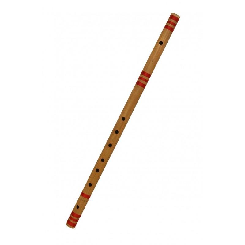 Bansuri Profesional bambu de La India en E / MI2