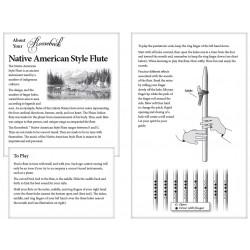 Flauta Nativa estilo Americano pag2