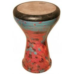 "Derbake Remo 10"" Ergo Drum METALIZED Turquoise"