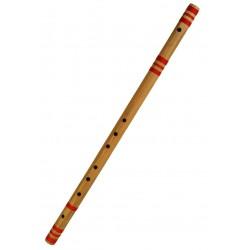 Bansuri Profesional bambu Pro. Do sostenido, 34.5 pulgadas