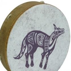 Buffalo Drum Remo Tambor Chamanico Coyote 2
