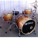 Bateria Odery Eyedentity Jazz Maple 4 cuerpos