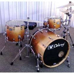 Bateria Odery Eyedentity Jazz Maple 4 cuerpos