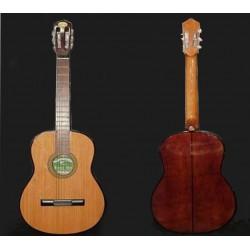 Guitarra clasica Breyer tapa de pino abeto natural, con funda