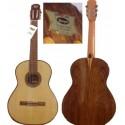 Guitarra clásica Breyer Aniversario nogal, diapasón de jacaranda, cedro