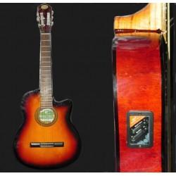 Guitarra electroacustica Breyer MEDIA CAJA con corte y ecualizador pasivo de 2 bandas
