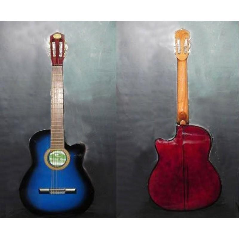 Guitarra electroacustica Breyer con corte y ecualizador Activo 3 bandas