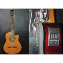 Guitarra electroacustica Breyer tapa pino abeto y ecualizador 4 bandas