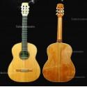 Guitarra clásica Breyer Luthier 100 algarrobo abeto americano, incienso, cedro