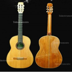 Guitarra clasica Breyer Luthier 100 algarrobo abeto americano, incienso, cedro