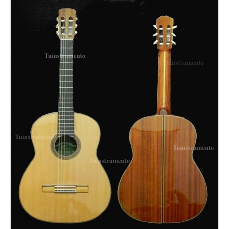 Guitarra clásica Breyer Luthier caoba africana, pino abeto aleman, diapasón de ebano OK