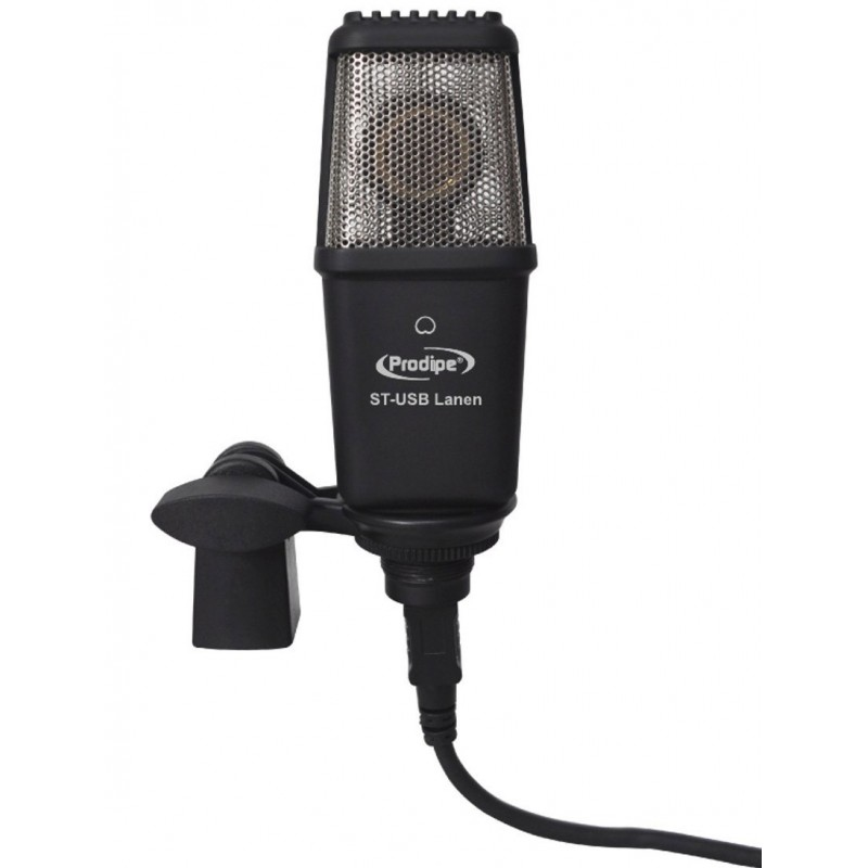 Microfono USB Prodipe Estudio+Driver Asio2, Uni-dir