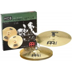 Set Meinl HCS Hihat 14 y Crash 16
