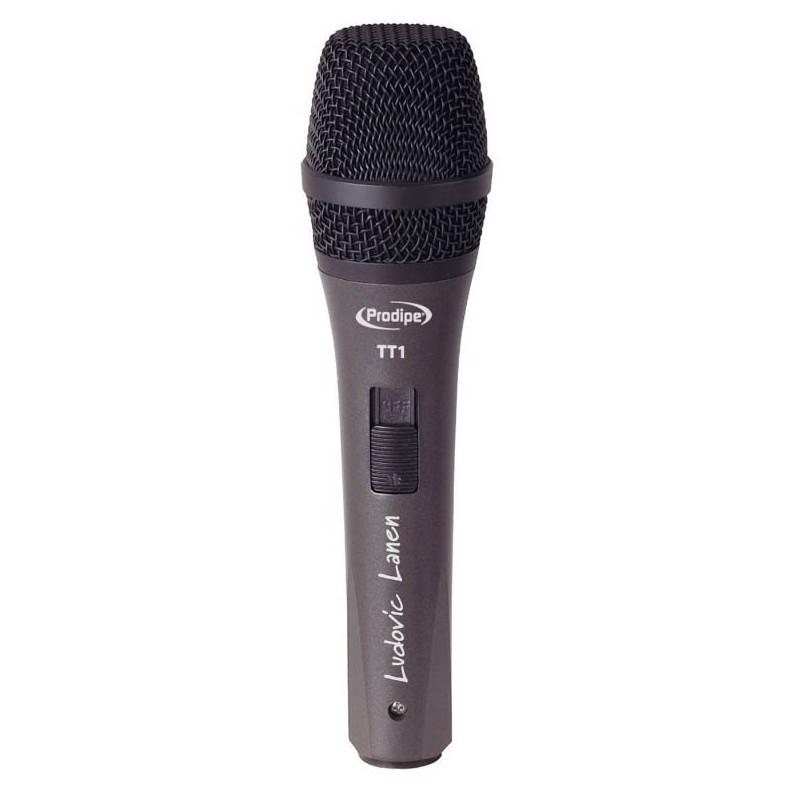 Microfono Dinamico Prodipe C/Pipeta/Switch/Funda