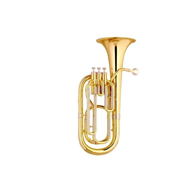 Fliscorno Baritono en Bb dorado de 4 llaves con estuche (eufonio)