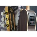 Guitarra electroacustica Breyer con corte, ecualizador, Afinador 4 bandas 2