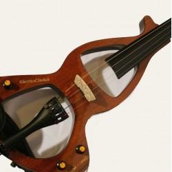 Violin Electrico Sojing 4/4 Silent C/ Arco Funda Simil madera2